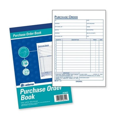 Purchasing Statements, 2-Part, Carbonless, 5-9/16''x8-7/16'' [Set of 2]