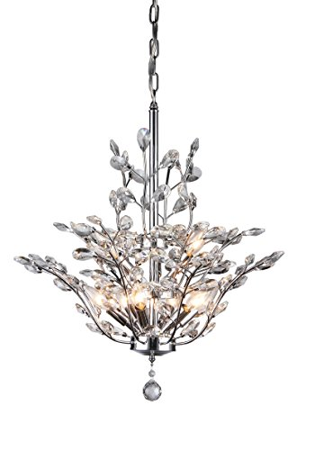 (Whse of Tiffany RL8000B Anastasia Leaf Chandelier)