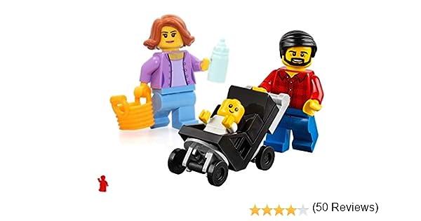 Lego 60134 Diversión en el parque Combo familiar, mamá, papá, bebé ...