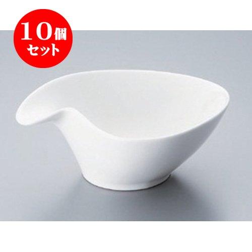 10個セット ボーダーレス DLピーチボール(M) [13 x 11.5 x 5.2cm] 海外製 洋食器 カフェ レストラン 業務用 ホテル B00RZBG3A8