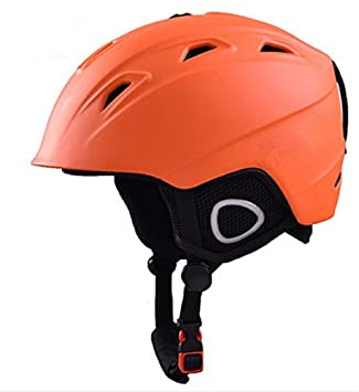 Cascos de esquí hombres y mujeres los niños deportes al aire libre equipo Protector Protección chapado