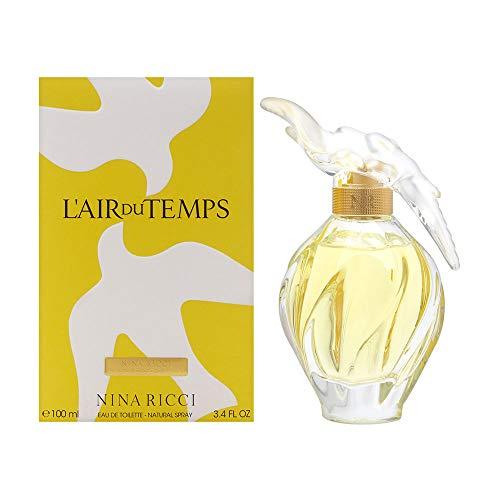 L'air du Temps by Nina Ricci for Women 3.3 oz Eau de Toilette Spray