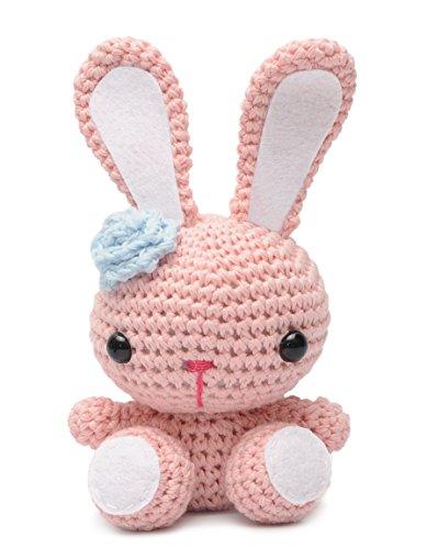 Handmade Knit - Bunny Animal Handmade Amigurumi Stuffed Toy Knit Crochet Doll VAC DaoOfThao
