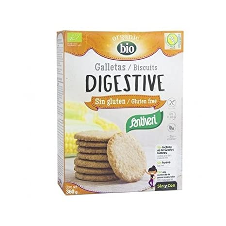 Galletas Digestive sin Gluten Bio 360 gr de Santiveri ...