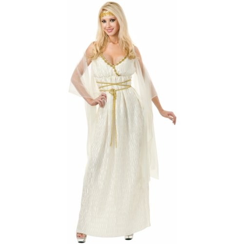 Grecian Princess Costume - Large - Dress Size 11-13 (Plus Size Greek Goddess Costume)