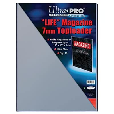 "Top Loader 11""x15"" Life Magazine (10 per pack): Sports & Outdoors"