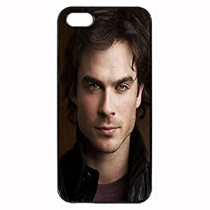 Ian Somerhalder Custom Image Case iphone 4 case , iphone 4S case, Diy Durable Hard Case Cover for iPhone 4 4S , High Quality Plastic Case By Argelis-sky, Black Case New