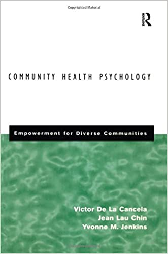 Book Community Health Psychology: Empowerment for Diverse Communities: Empowerment for Communities of Color