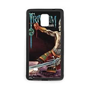 Holiday Gifts M-07 Music Band Trivium Black Print With Hard Shell Case for Samsung Galaxy Note 4