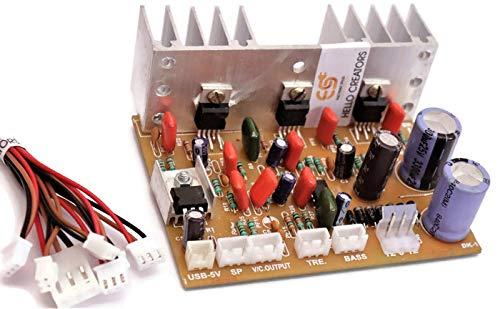 Generic 2 1 Home Theater Amplifier Board 100 Watt with Bass Boost
