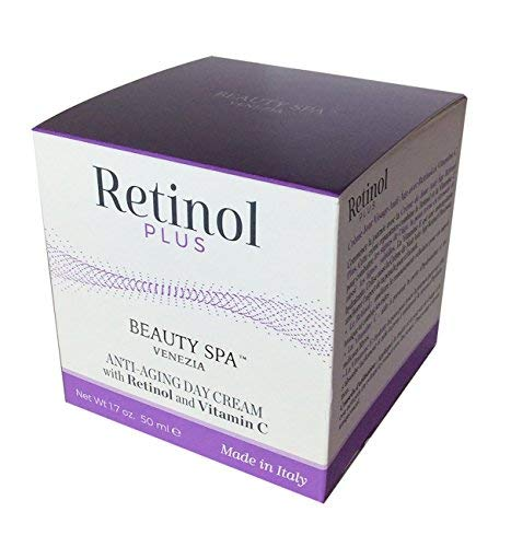 Retinol Plus Anti Aging Day cream with Retinol and Vitamin C 50 ml (Skin Spa Beauty)