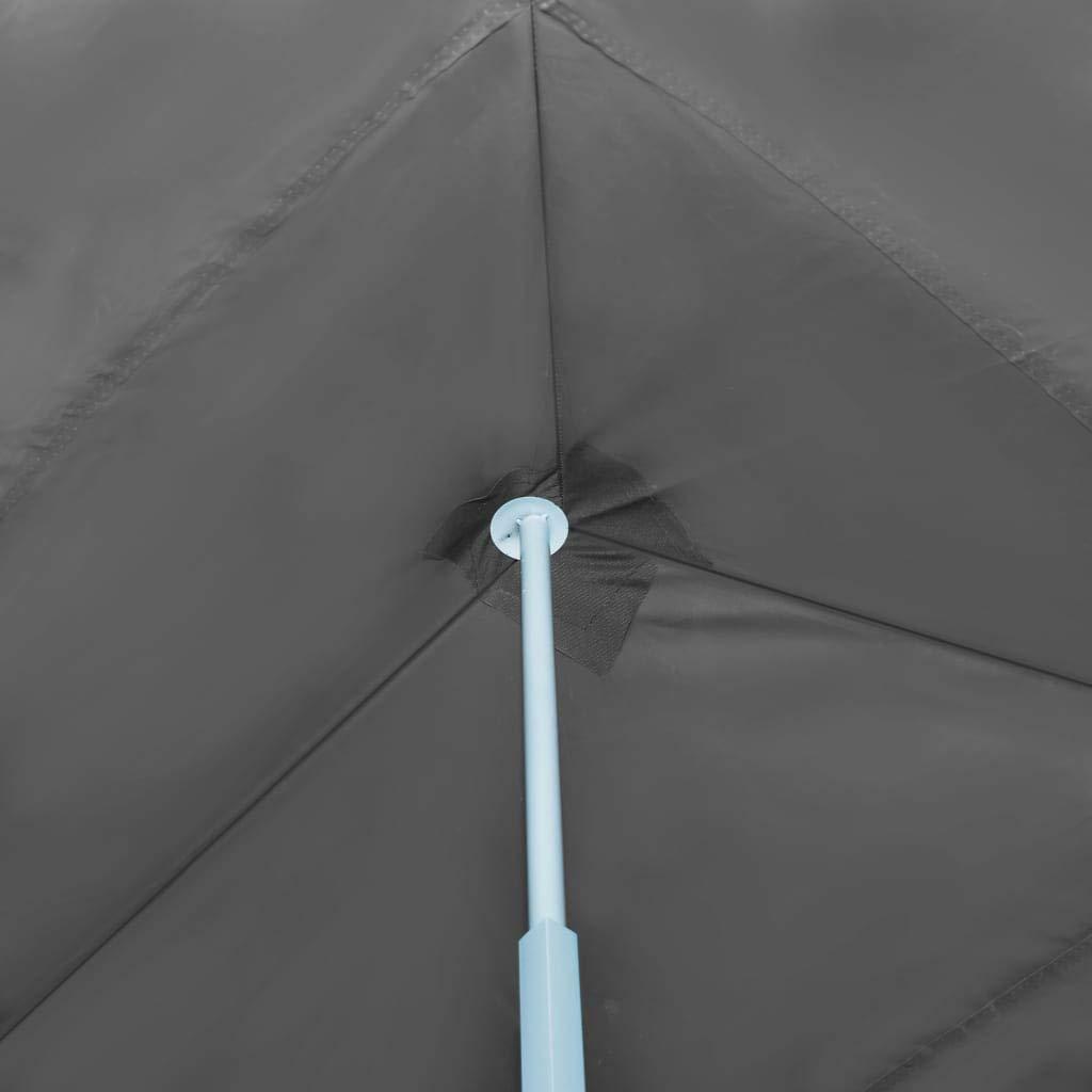 vidaXL Folding Pop-up Party Tent with 5 Sidewalls 3x9m Blue Canopy Gazebo