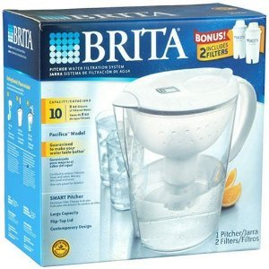 BRITA Water Filtration System Kit: 1 Pitcher (Large Capac...