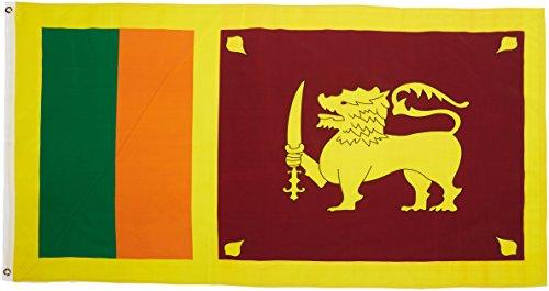 US Flag Store Sri Lanka 3-Feet by 5-Feet Printed Polyester Flag