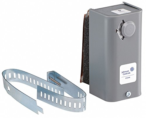 (Johnson Controls A19DAC-1C A19D Series Surface Mounted Temperature Control, 100 to 240 Degree F Temperature Range and Scale, 10 F Degree (+/- 2.8 F Degree) Differential, Visible Range Scale)