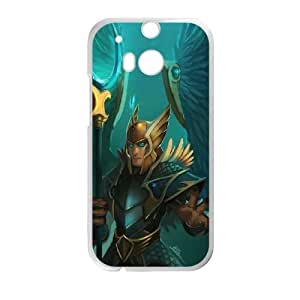 HTC One M8 Cell Phone Case White Defense Of The Ancients Dota 2 SKYWRATH MAGE 005 MJQ409839H