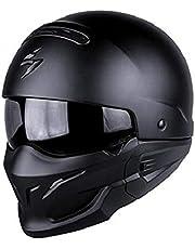 Scorpion–Cascos Moto Exo Combat Negro Mate
