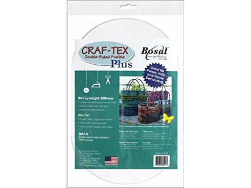 Bosal Dbl Side Oval 2pc Craf-Tex Fusible Double Sd Plus Sm