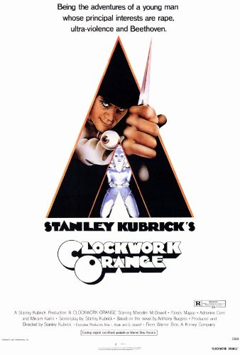 A Clockwork Orange 11x17 Movie Poster