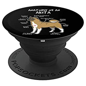 Anatomy Of An Akita Dog Puppy Lover Funny Cute Gift 36