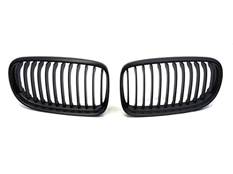 09 10 11 BMW E90 LCI Sedan (Not Fit M3) Black Sport Front Grille Replacement (Bmw Accessories 09 328 E90)