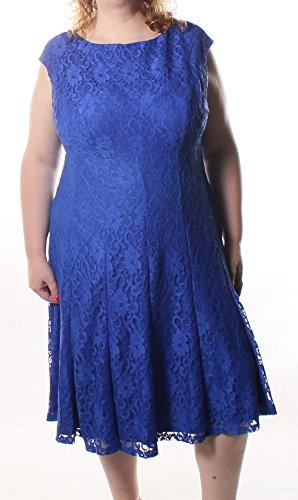 Lauren Ralph Lauren Plus Size Empire Waist Lace Fit & Flare Dress (20W)