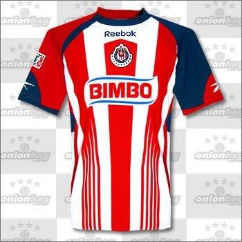 新しい。Chivas de Guadalajara Home Reebok 2010 Jerseyサイズ2 x l B07BCRSH1M