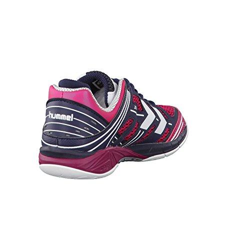 Hummel Omnicourt Z6 Ws, Zapatillas Deportivas para Interior para Mujer Sangria