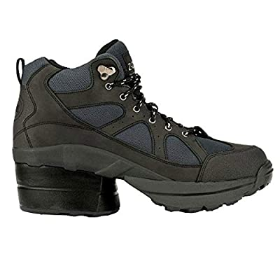 Z-CoiL Pain Relief Footwear Men's Outback Hiker Enclosed Coil Black Boots | Hiking Boots