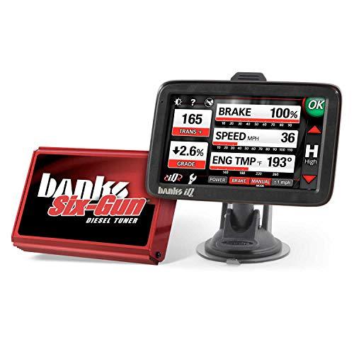 Banks Power 63899 Six-Gun Diesel Tuner; w/iQ Man-Machine Interface;