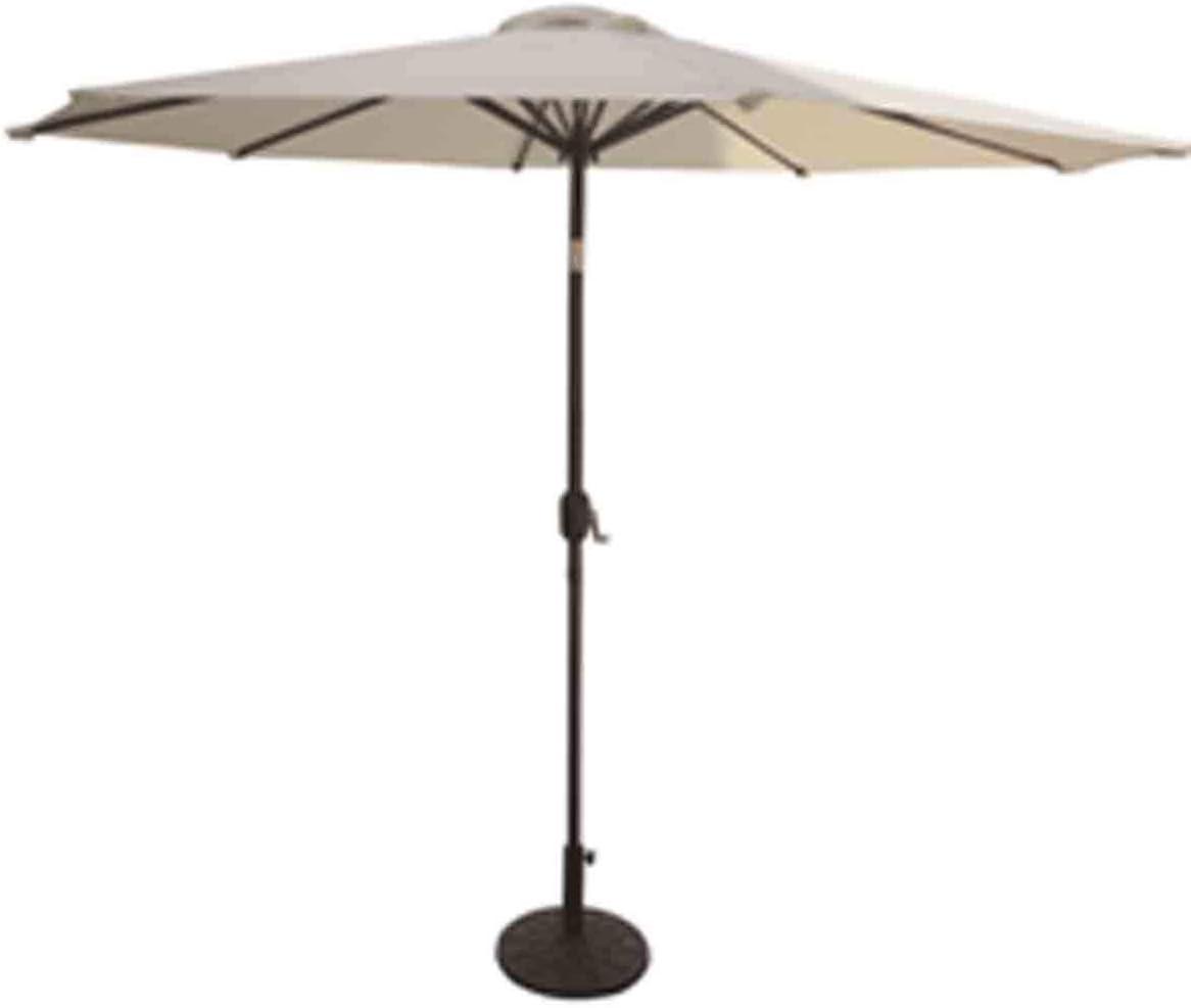 VMI 9-Feet Adjustable Umbrella with Aluminum Pole, Beige