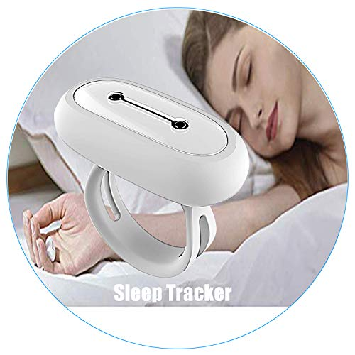 SLEEPON Sleep Monitor, Helps Detect Sleep Abnormalities - Family Sleeping Health Tracker with Heart Rate, Blood Oxygen Saturation, Breathing Tracking and A Real-Time Low Oxygen Alert for iPhone 5 678X ()