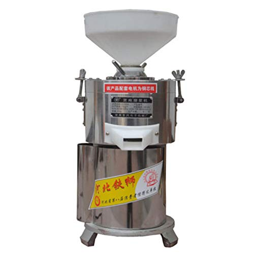 (TOPCHANCES 1100W Commercial Electric Stainless steel Peanut Nut Butter Grinder Peanut Paste Machine Sauce Pressing Machine Tomato Butter Maker Colloid Mill)