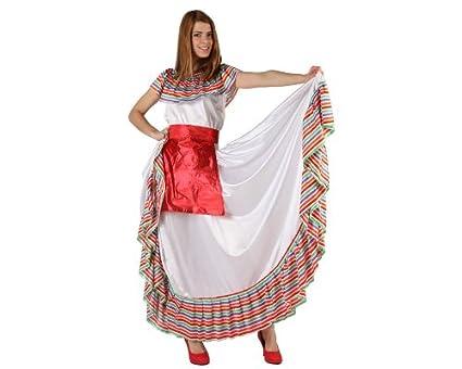 Atosa-19540 Disfraz Mejicana, multicolor, ML (19540)