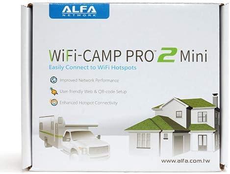 AWUS036NH Long Range Repeat GENUINE Alfa Camp Pro 2 Mini R36A Wi-Fi USB Router