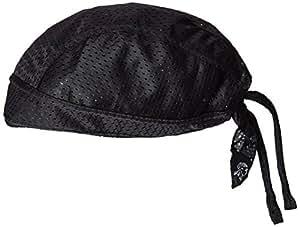 ZANheadgear Flydanna 100 Percentage Polyester Vented Sport Bandanna (Mesh Black)