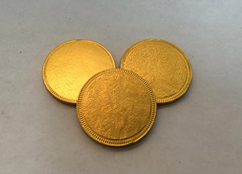 (Personalized Gold Milk Chocolate Coins, 1.5
