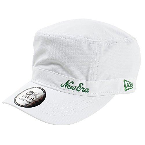 (ニューエラ) NEW ERA ゴルフ ワークキャップ アジャスタブル WM-01 BELLOASIS オールドロゴ GOLF FREE (サイズ調整可能)