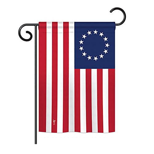 Americana Home & Garden G142704-BO Betsy Ross Historic Impressions Decorative Vertical 13
