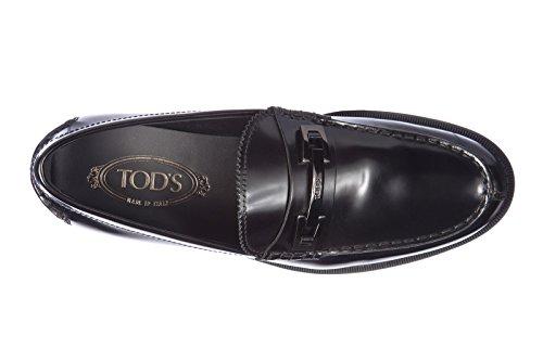 Tod's mocassins homme en cuir macro clamp classico noir EU 40 XXM0UD0N650AKTB999