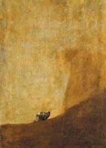 """Editions Ricordi 2802N25003 - Puzzle de 1000 piezas del cuadro """"El perro de las pinturas negras"""" de Goya"""