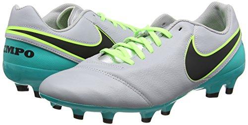 Clair Jade gris Chaussures Genio Homme Nike Ii Gris Tiempo Pour Football Loup Argent De Noir Mtallis xS47SCO