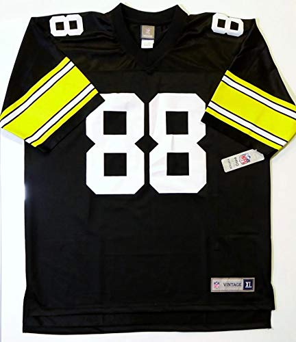139774c66 Lynn Swann Autographed Black Steelers NFL Pro Vintage Jersey-JSA W Auth L8  at Amazon s Sports Collectibles Store