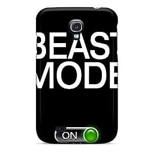New Tpu Hard Case Premium Galaxy S4 Skin Case Cover(beast Mode)