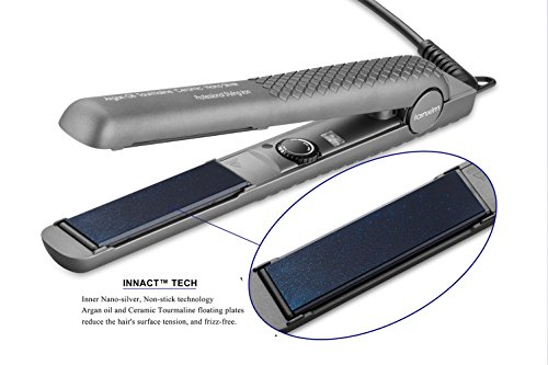 Lanxim Professional 1 Inch Auto Shut Off Flat Iron Hair