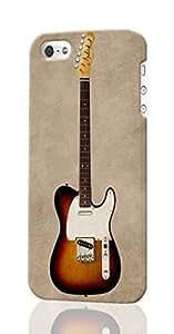 Fender Telecaster Custom Diy Unique Image Durable 3D Case Iphone 5C Hard Case Cover