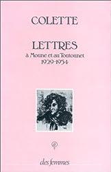 Lettres à Moune et au Toutounet, 1929-1954