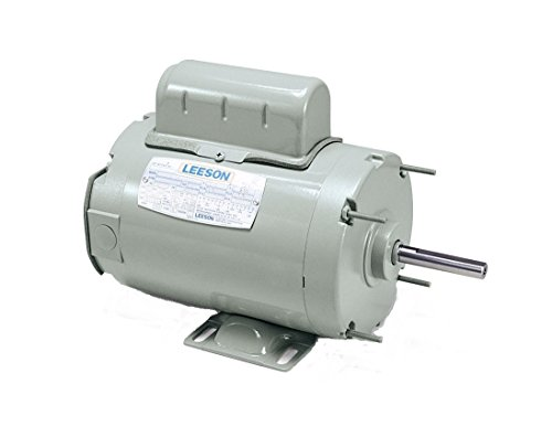Leeson 111266.00 Agricultural Fan Duty Motor, 1 Phase, 56H Frame, Rigid Mounting, 3/4HP, 1625 RPM, 115/230V Voltage, 60Hz Fequency