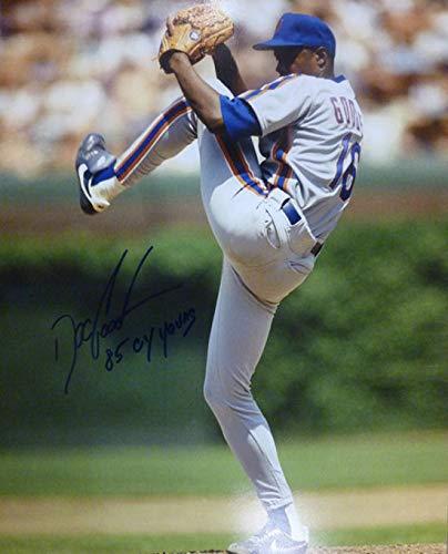 New York Mets 16x20 Photo - Dwight Doc Gooden Autographed New York Mets 16x20 Photo 85 CY Young