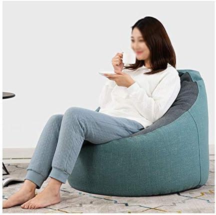 RKRGQ Reißverschluss Sitzsack Startseite Faul Sofa Sitzsack Waschmaschinenfest Gemütlicher Gaming Sitz Sack & Bett Möbel Bean Bag